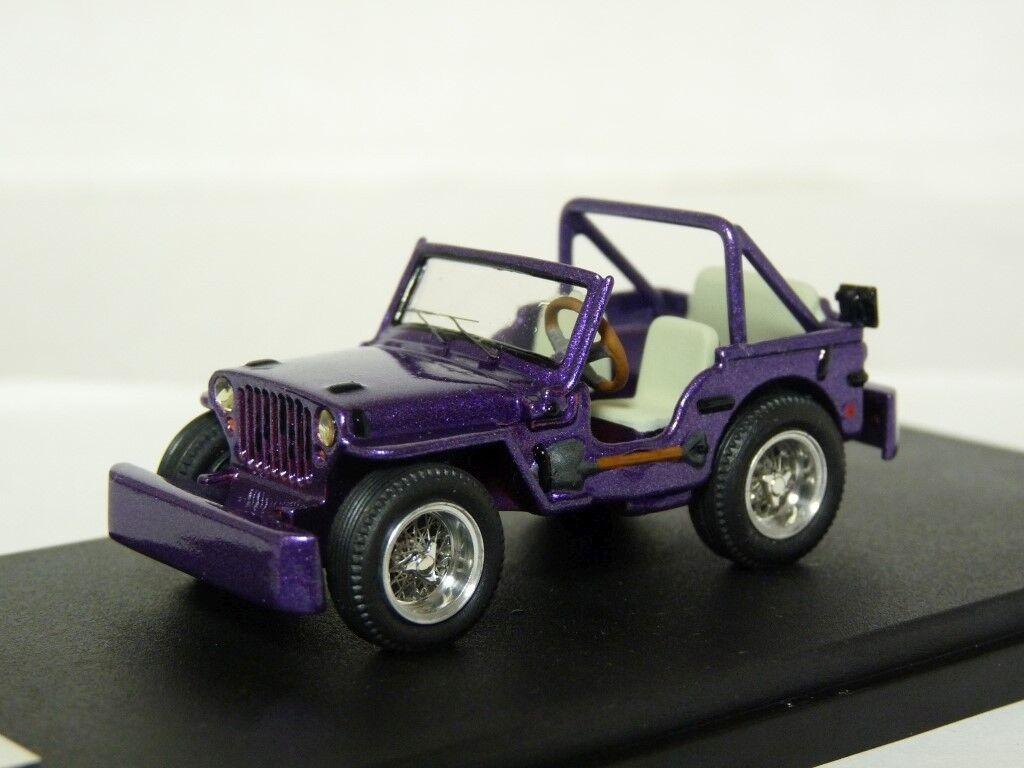 PitStop 1 43 1998 Jeep skaife Overland 4x4 Resin Handmade Voiture Modèle