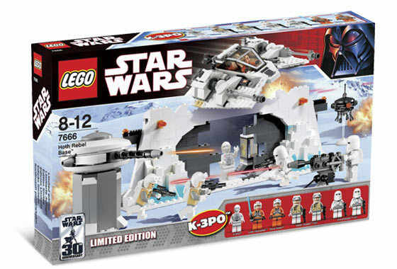 BRAND NEW Lego Star Wars Classic Hoth Rebel Base 7666 LIGHTLY DENTED