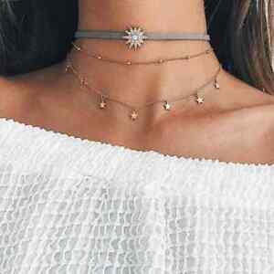 Collana-donna-con-stelle-girocollo-in-acciaio-stelline-collanina-da-catenina