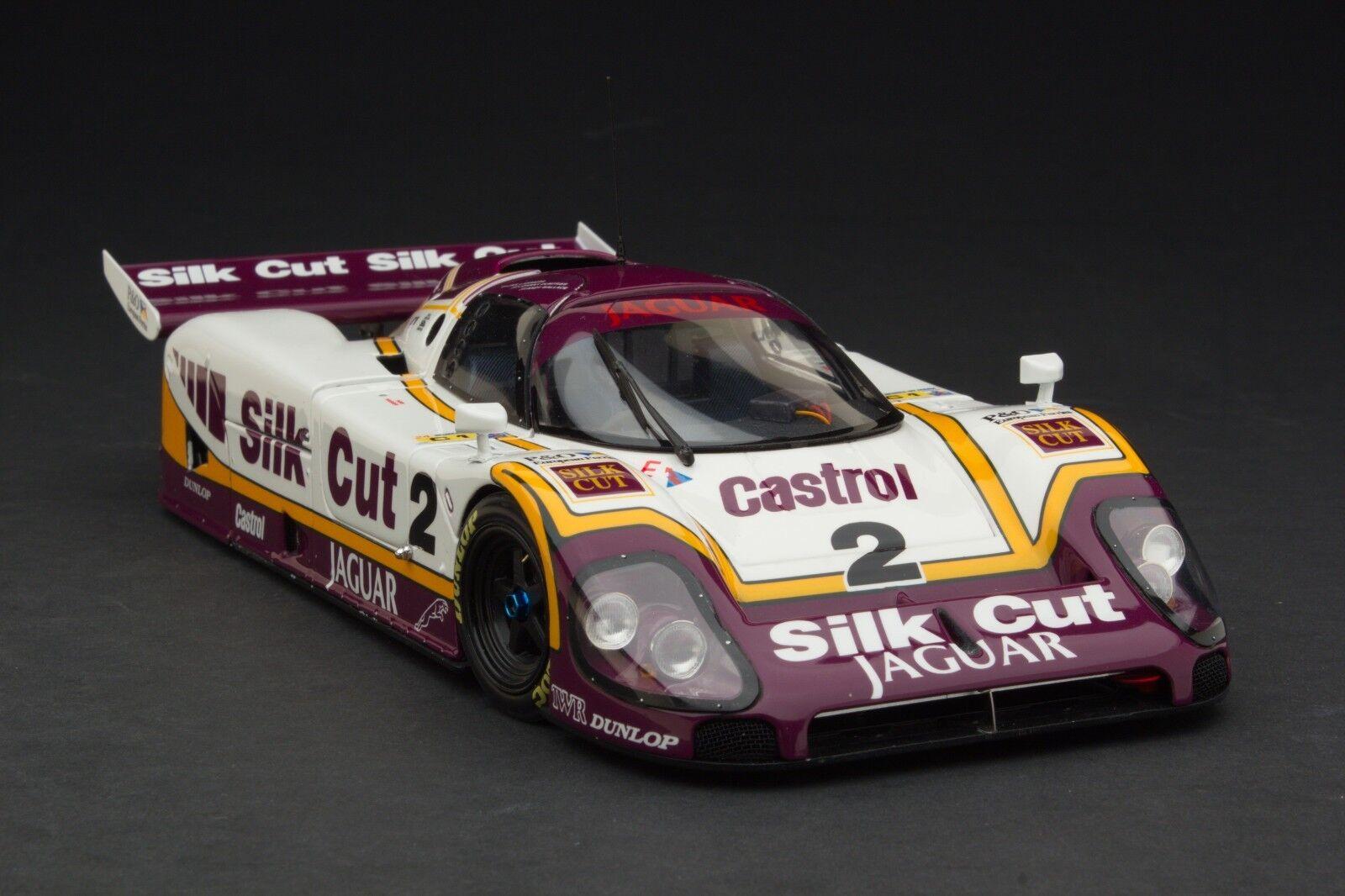 Exoto 1 18   1988   seda de corte JAGUAR XJR-9 Lm Le Mans Winner     MTB00104