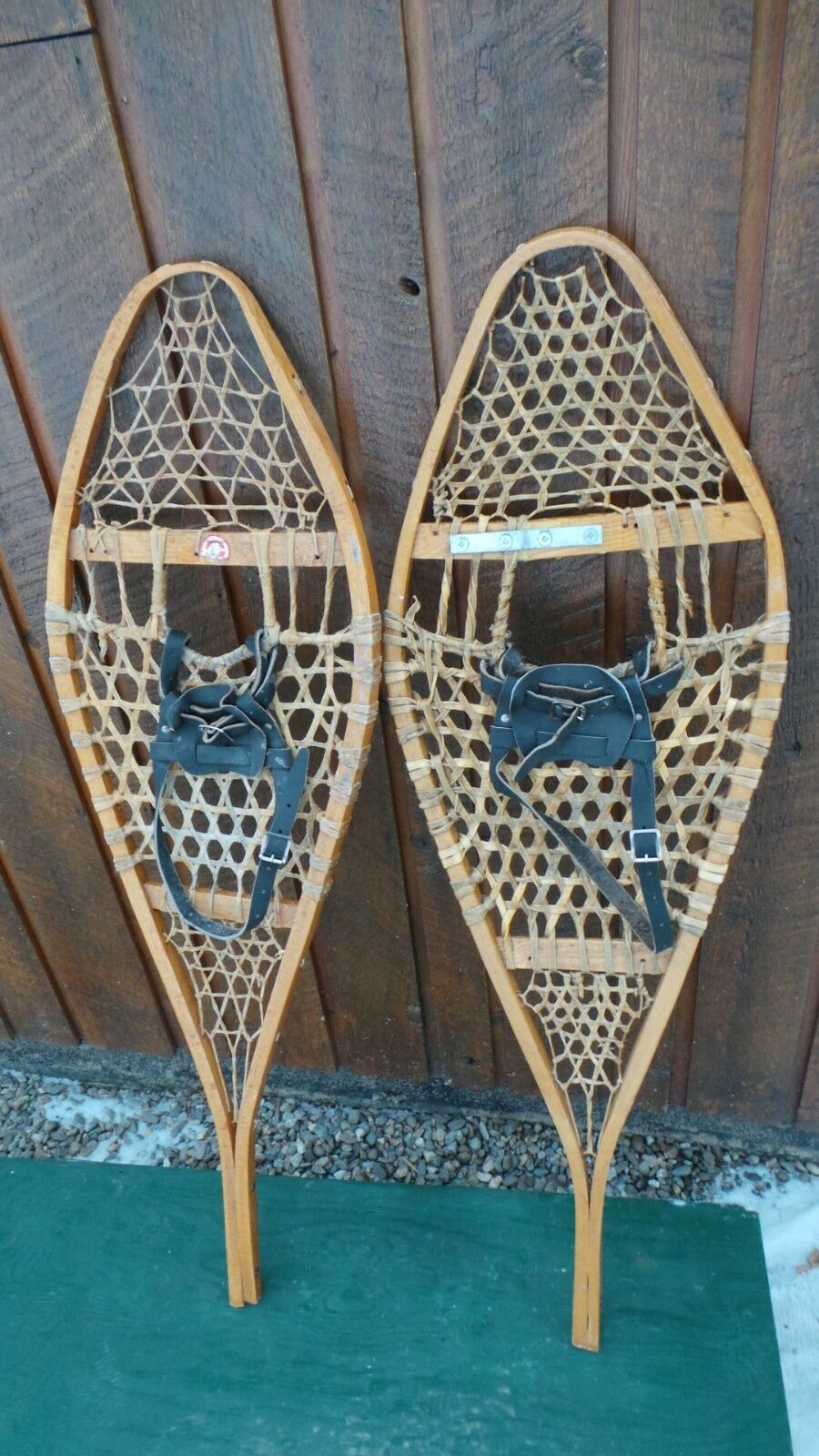 GREAT OLD Snowshoes  43  long x 13  wide   Ready To Hang for Decoration  with 60% off discount