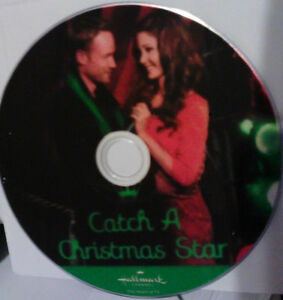 Catch a Christmas Star, DVD of Hallmark Movie, Disc Only, No Case ...