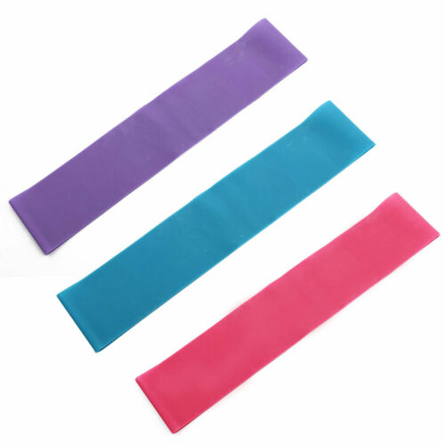 Gym Workout Fitness Training Yoga Pilates Exercise Stretch Resistance Band Strap