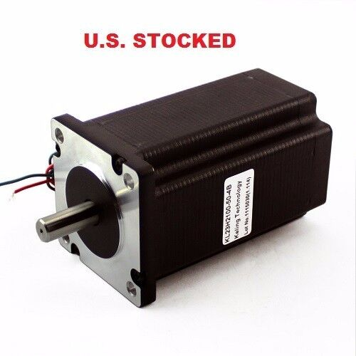 "4 pcs DUAL SHAFT 1//4"" Shaft STEPPER MOTOR NEMA23 570OZ//IN 5A"