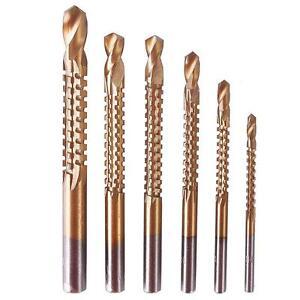 6-Pcs-HSS-Ti-Step-Drill-Bits-Woodworking-Wood-Metal-Cutting-Hole-Saw-Tool-CO