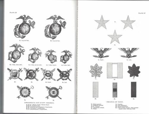 Quality reprint UNIFORM REGULATIONS US MARINE CORPS 1937
