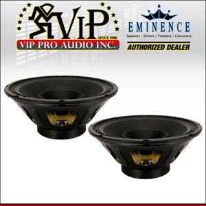 2x-Eminence-Beta-12LTA-12-034-Mid-Bass-Pro-Audio-Woofer-450W-Midrange-Speaker-8-Ohm