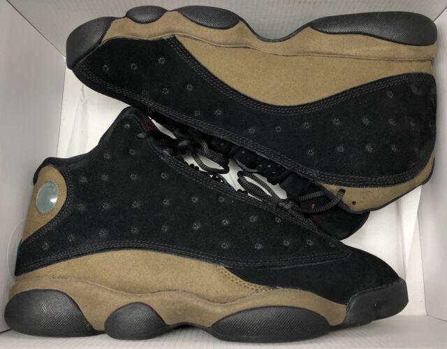 best loved 04f69 90987 Jordan Retro XIII 13 Olive Black Gym Red Bred Playoffs 414571-006 Sz 8.5 · Nike  Jordan Men s ...