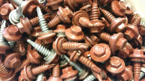 1//4 x 7//8 Metal Building Lap Screws With Washer
