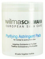 Wilma Schumann Purifying Astringent Pads 60 Pads For Normal To Acne Brand