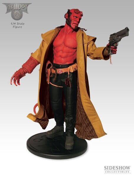 ULTRA RARE Sideshow HELLBOY PREMIUM FORMAT  7104 new sealed
