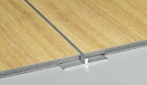 Glorieux Porte En Aluminium Barres De Seuil Profil T Transition Trim For Lvt Sol 0.9 M X 3 Mm-afficher Le Titre D'origine Soyez Astucieux Dans Les Questions D'Argent