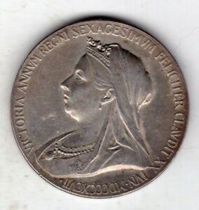 1897 Queen Victoria Diamond Jubilee Silver Medal, Small Size