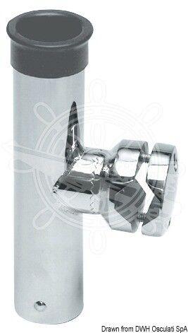OSCULATI Angelrutenhalter AISI316 f.Rohre 30/35 mm
