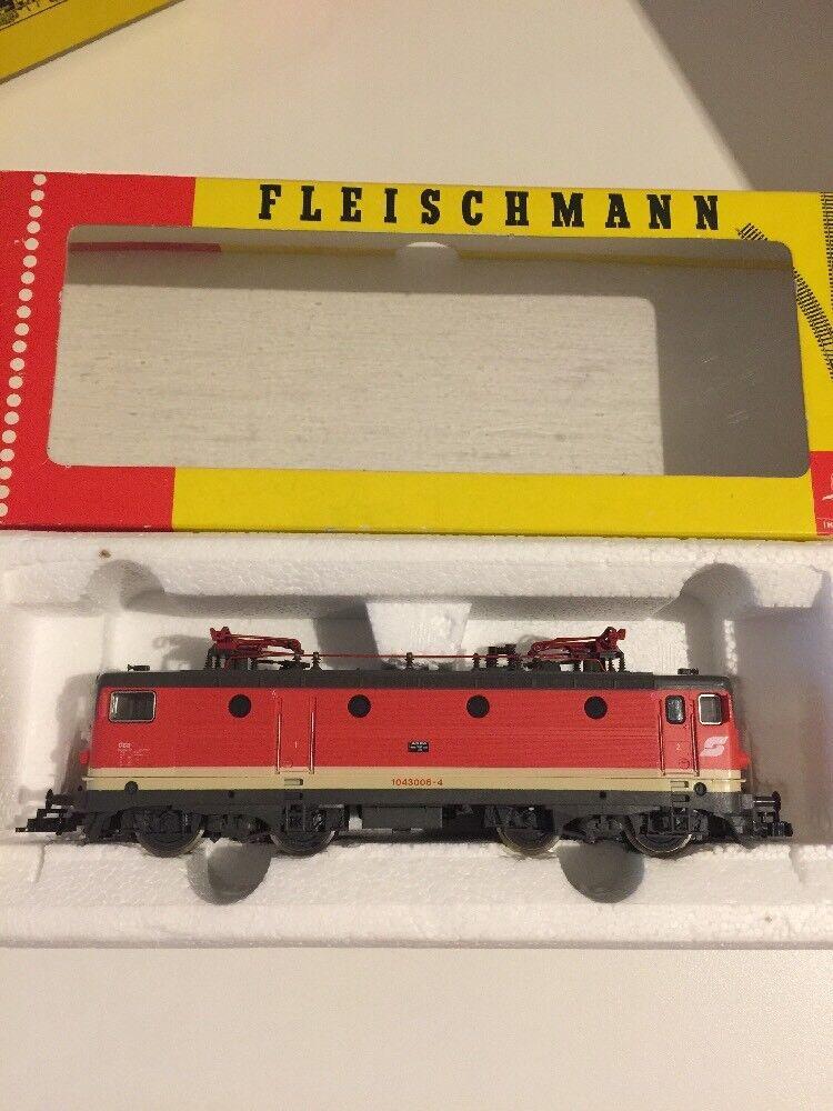 Traccia h0 Fleischmann 4366 ÖBB 1043006-4 Ovp Top