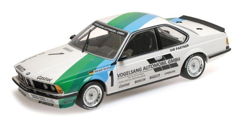 Bmw 635 Csi Harald Grohs Winner Bergischer Lowe Zolder 1984 1 18 Model