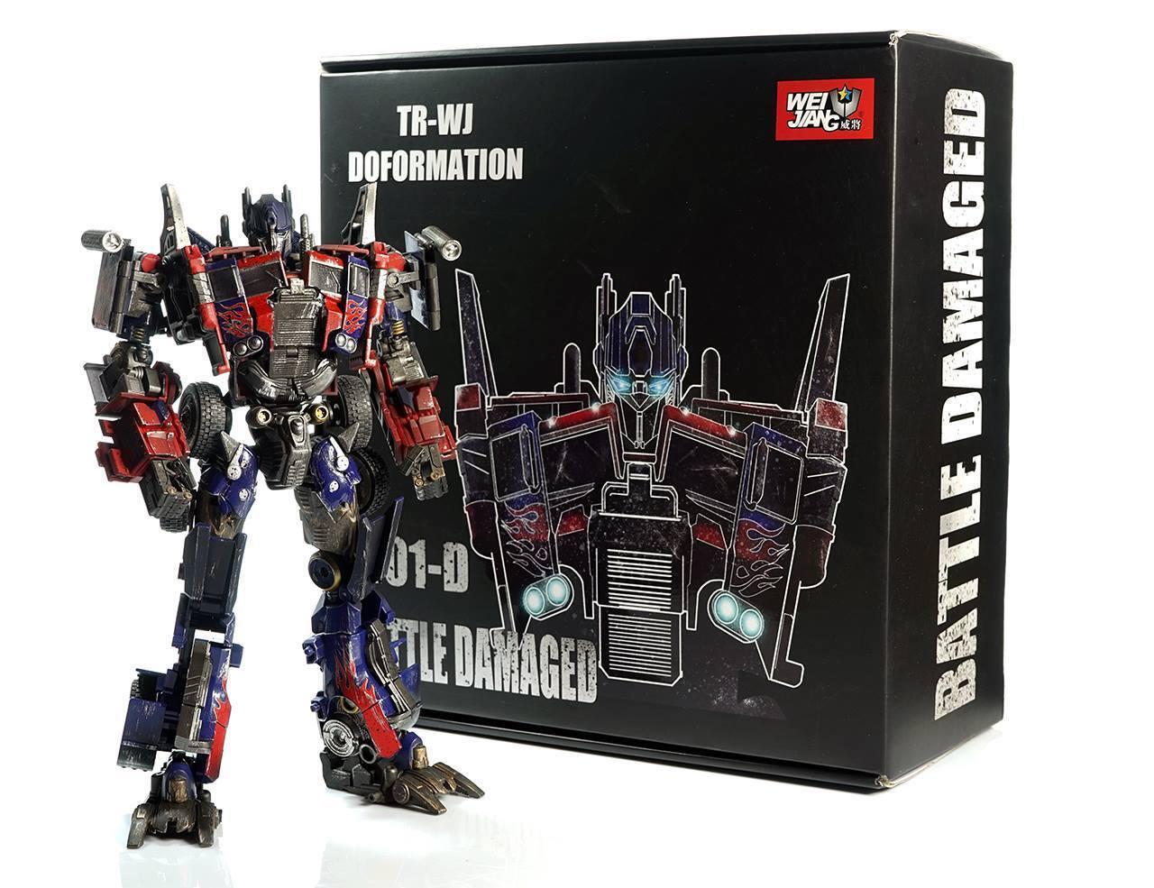 TRANSFORMERS - Optimus Prime M01D Battle ver. Figura de Accion 31 cm Wei Jiang