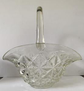 Large-Vintage-Clear-Pressed-Starburst-Pinwheel-Glass-Basket
