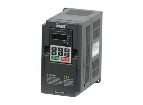 INVT Frequenzumrichter 2,2KW 230V SINGLE PHASE INPUT GD10-2R2G-S2-B