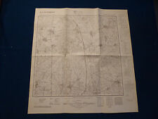 Landkarte Meßtischblatt 4352 Komptendorf, Laubsdorf, Neuhausen, Sellessen, 1945
