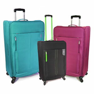 Extra Large 69 cm Super Light 4-Wheeled Travel Trolley Luggage ...
