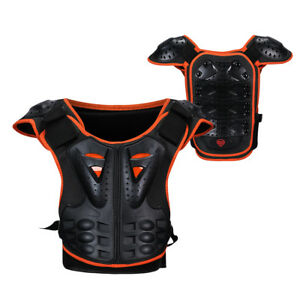 Reflechissante-Dirt-Bike-Moto-Poitrine-Protection-Dos-Poitrine-Protection-Enfants-Cadeau