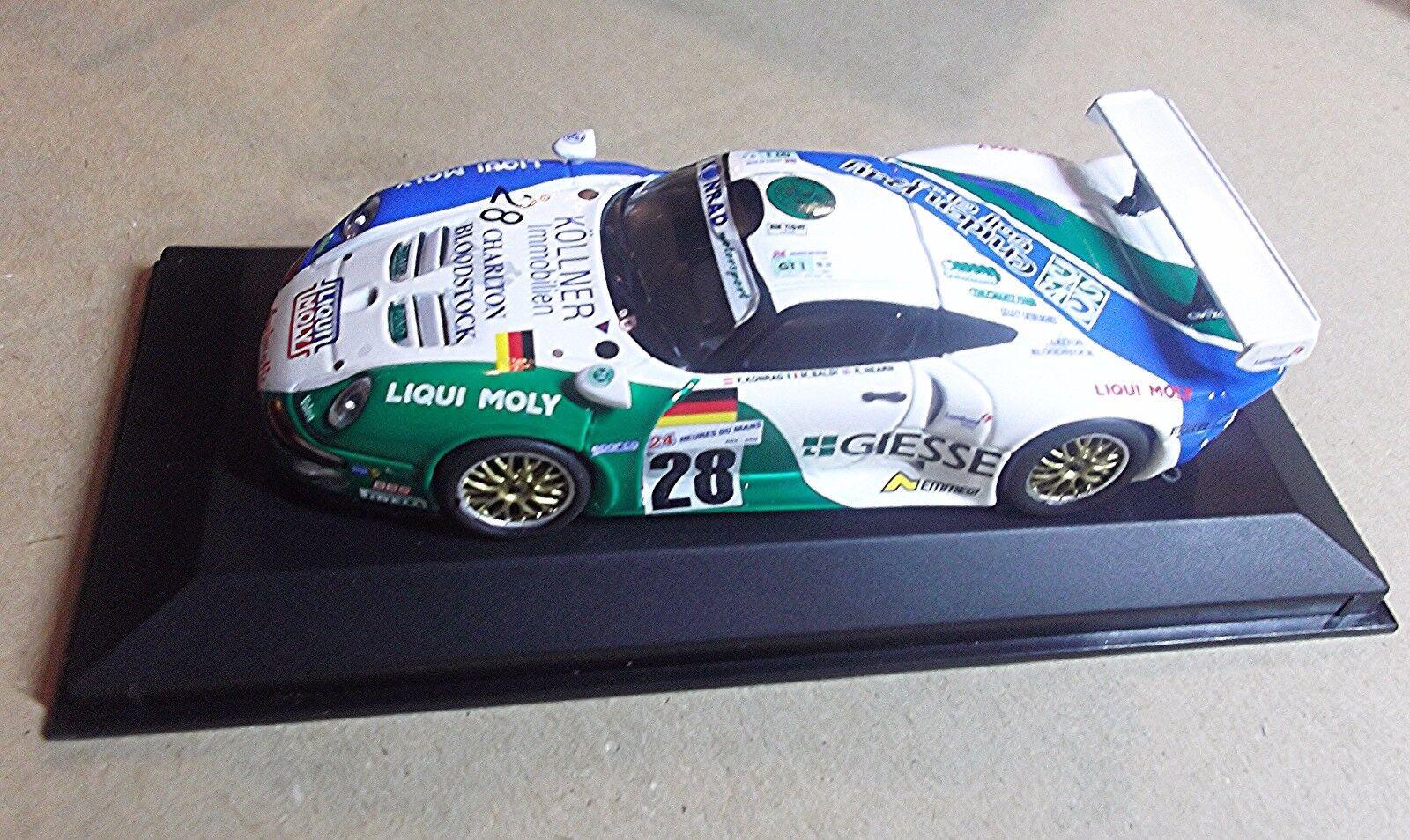 430976628 MINICHAMPS 1 43 SCALEPORSCHE 911 GT 1  LE MANS 1997 KONRAD BALDI