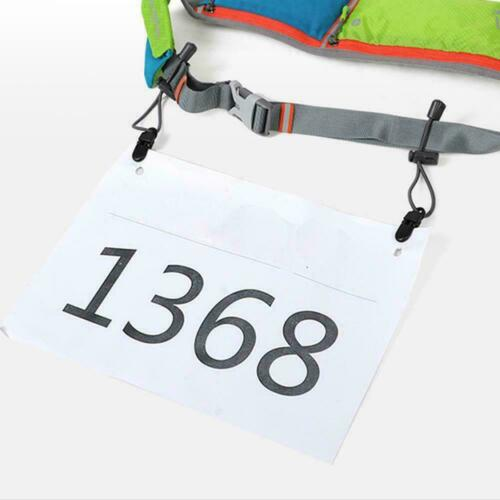 Sport Triathlon Marathon Running Race Number Holder Waist Bib Belt Unisex Belt S