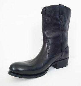 LEATHER COWBOY Boots Shoes 8