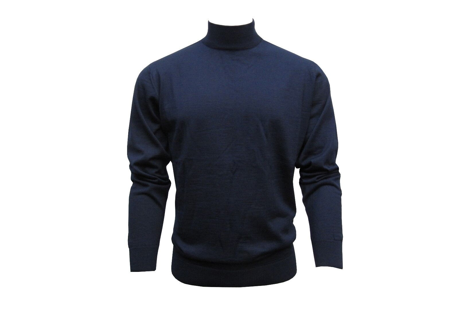 Stehkragen Stehkragen Stehkragen Herren Pullover Gr.L Marine Blau   Große Ausverkauf  1aae1a