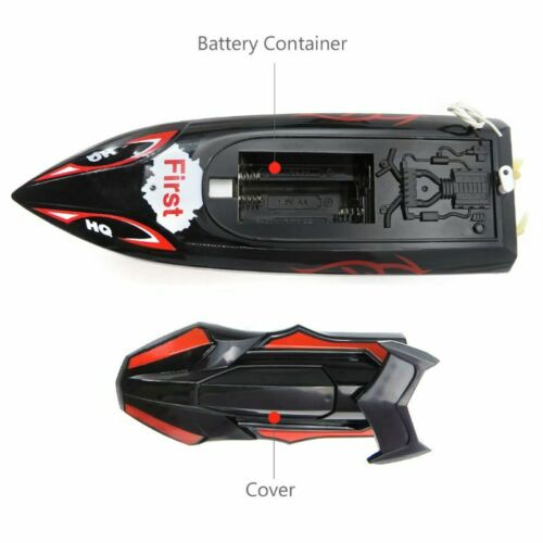 Flytec HQ2011-15C 10Km//H 27Mhz Control Rc Boat Ship Toy for Kids Children Gift Q