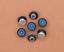 10X-Silver-Tone-Flower-Leather-Craft-Bag-Belt-Purse-Decor-Turquoise-Conchos-Set miniature 70