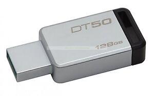 Kingston-USB-128GB-DataTraveler50-DT50-USB3-1-110MB-s-Leer-15MB-s-Escribir-ct-ES