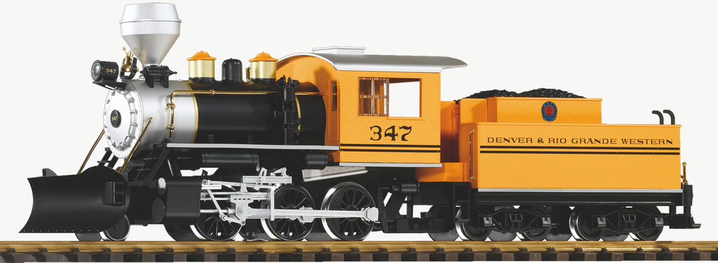 Piko G Scale 38225 Mogul D&RGW  347 Steam Locomotive (G-Scale)