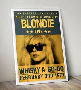 Blondie-Poster-Debbie-Harry-Print-Reproduction-Artwork-Print