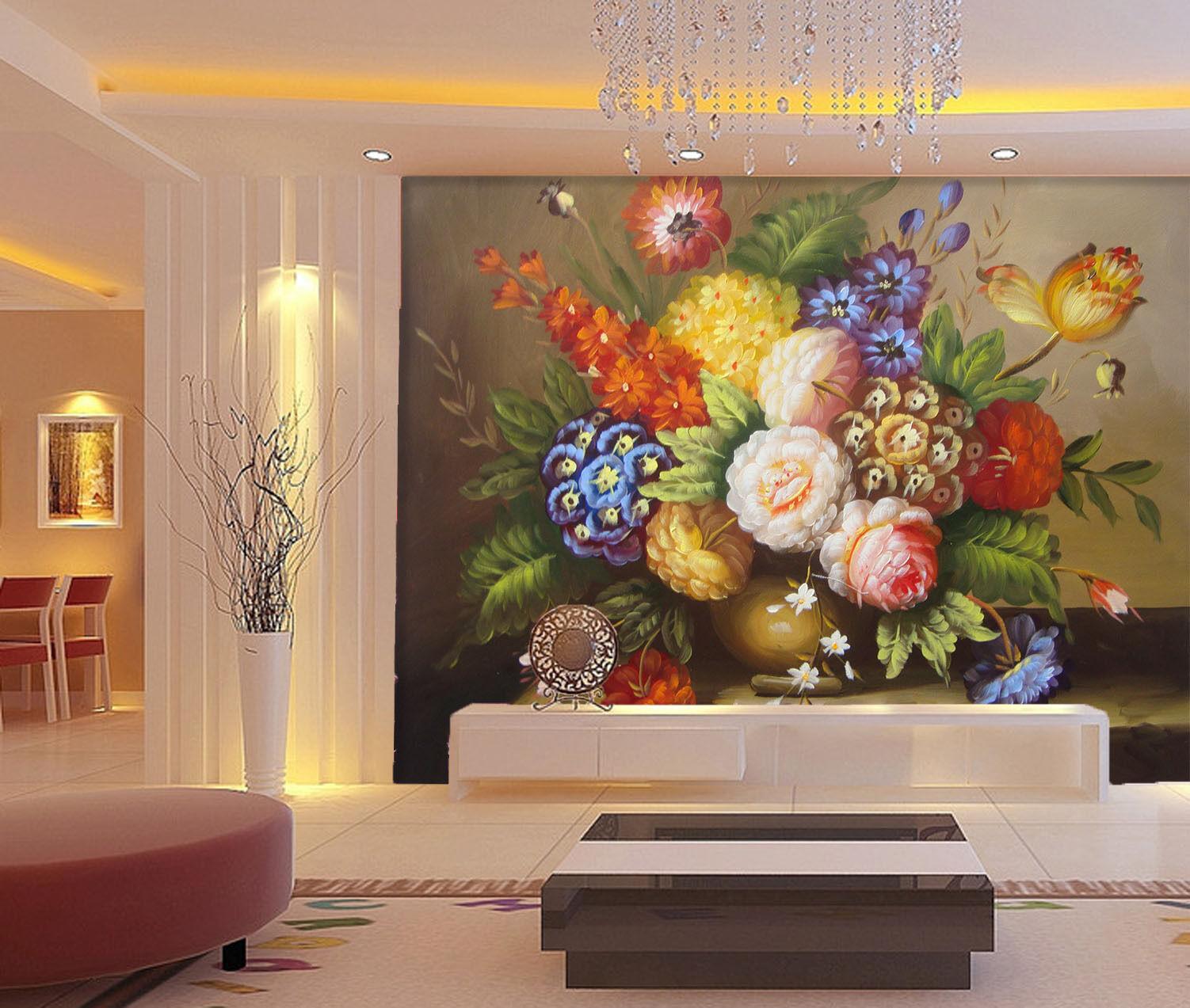 3D Blaumenkunst 467 Fototapeten Wandbild Fototapete BildTapete Familie DE