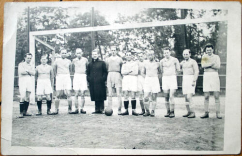 1920 Realphoto PostcardFootballSoccer m Photo, Net