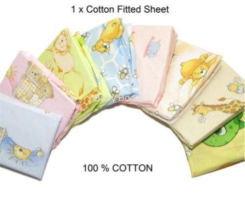 Kinderzimmer Baby Baumwolle Angepasstes Bettlaken 120x60 Gitterbett
