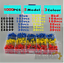1000pcs//lot Bootlace cooper Ferrules kit set Wire Copper Crimp Connector Insulat