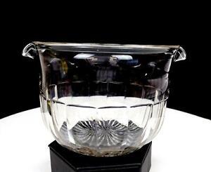 FLINT-GLASS-GEORGIAN-ERA-CLEAR-PANELED-3-5-8-034-WINE-RINSER-1714-1837