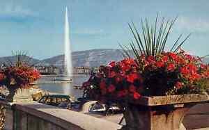 Switzerland - Geneva - The Water Jet (F2461)