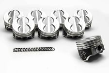 Speed Pro Ford 289 302 Flat Top Hypereutectic Coated Pistons Set8 901 060