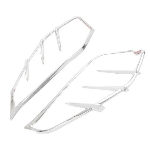 Chrome Mid-Frame Air Deflector Trim For Harley Touring Electra Street Tri Glide