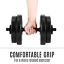 thumbnail 8 - 20KG Dumbbell Adjustable Weight Set Home Gym Core Fitness Space Saving Fortis AU