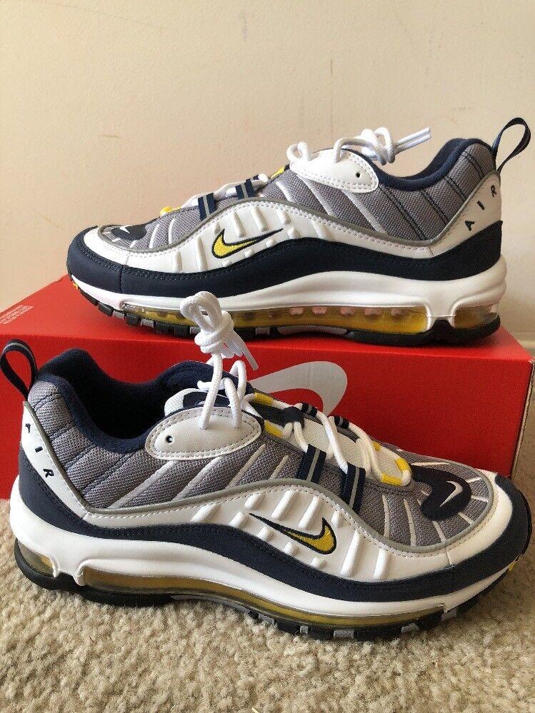 Nike Nike Nike air max 97 og mens größe 14 schuhe tour, gelblich - weiße 640744 105 marine cc3de1