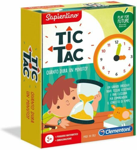 Clementoni Sapientino L/'Emozione di Imparare Tic Tac Quanto Dura Un Minuto Play