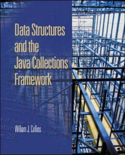 Data Structures and the Java Collections Framework, Collins, William, Used; Good