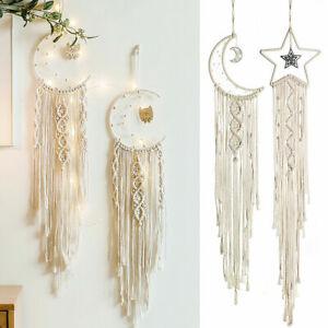 Macrame-Wall-Hanging-Handwoven-Bohemian-Cotton-Rope-Boho-Tapestry-Home-Decor