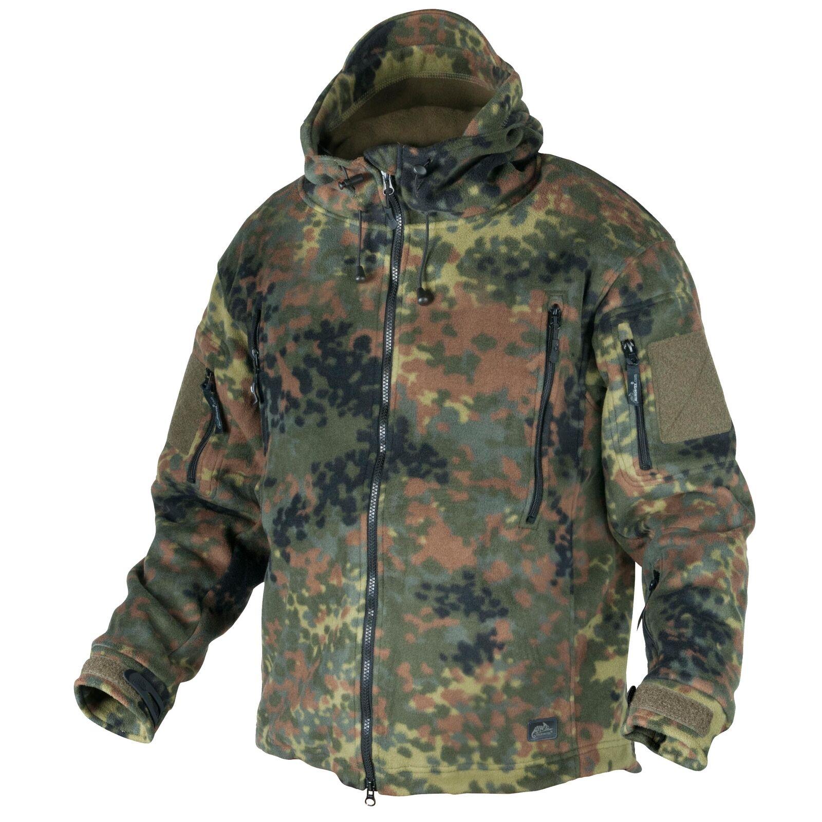 Helikon Tex Patriot Fleece Jacket Jacke Flecktarn BW Outdoor - Fleece 390g m2