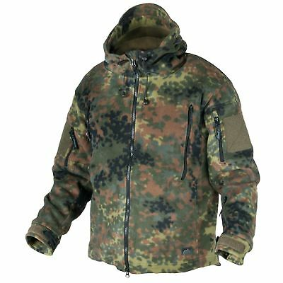 PräZise Helikon Tex Patriot Fleece Jacket Jacke Flecktarn Bw Outdoor - Fleece 390g/m2 Bereitstellung Von Annehmlichkeiten FüR Die Menschen; Das Leben FüR Die BevöLkerung Einfacher Machen